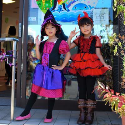 ハロウィン子供達衣装魔女悪魔