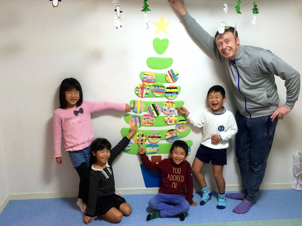 クリスマスツリーキッズクラス