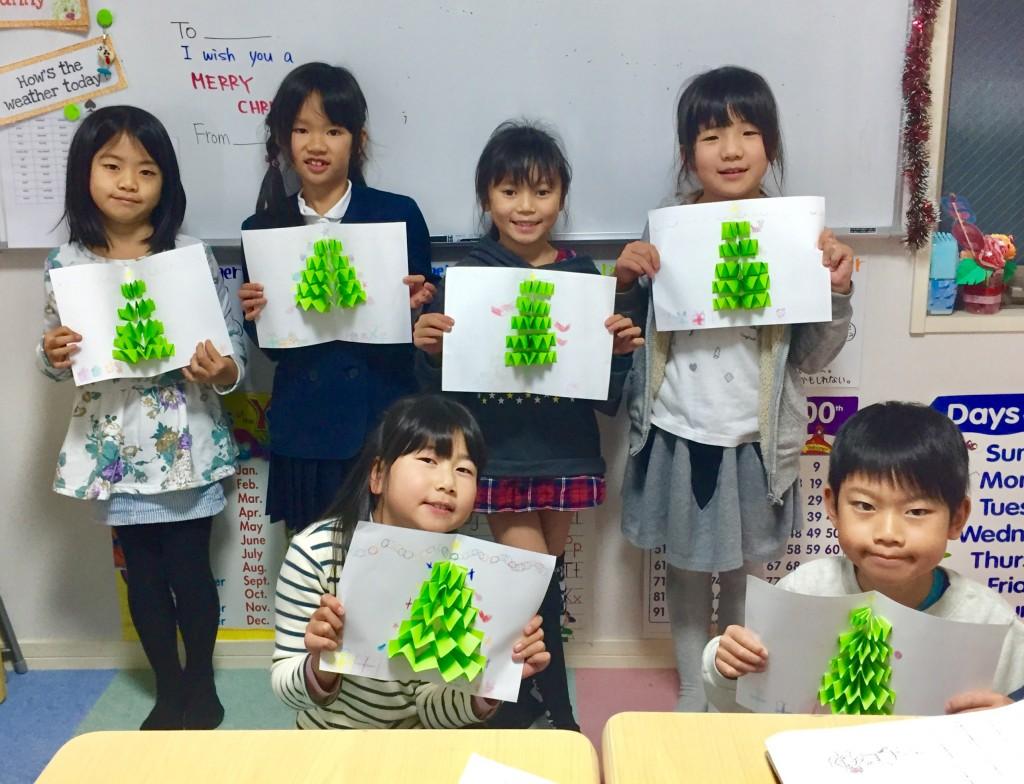 クリスマスカード完成4